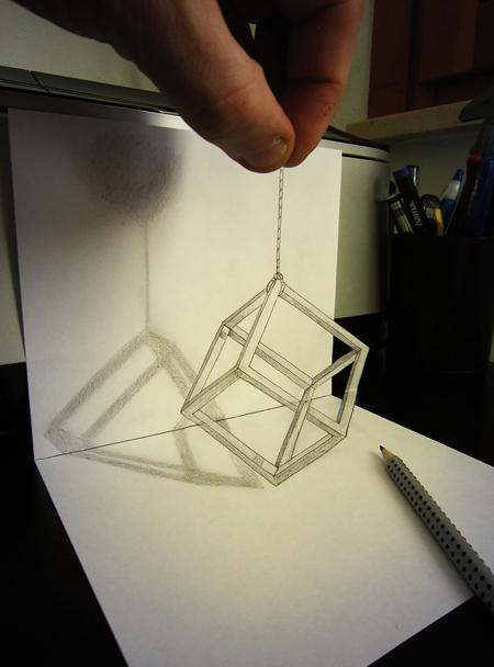 Những tác phẩm 3D sinh động qua nét vẽ chì sáng tạo-11