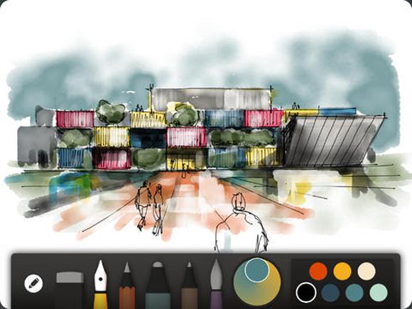 Những ứng dụng thiết kế tuyệt vời trên iPad -1
