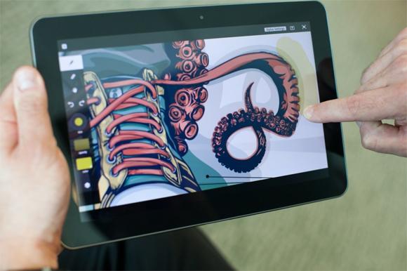 Những ứng dụng thiết kế tuyệt vời trên iPad -2