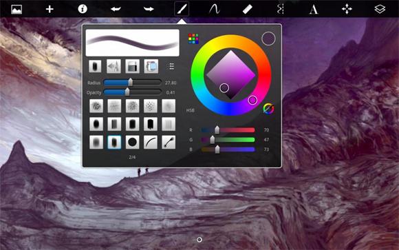 Những ứng dụng thiết kế tuyệt vời trên iPad -3
