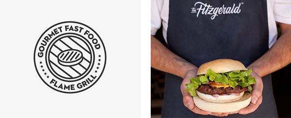 Bộ nhận diện thương hiệu ấn tượng của Fitzgerald Burger-5
