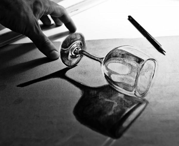 Những tác phẩm 3D sinh động qua nét vẽ chì sáng tạo-6
