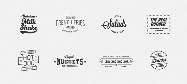Bộ nhận diện thương hiệu ấn tượng của Fitzgerald Burger-8