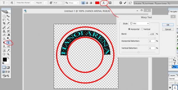 Cách làm con dấu cá nhân với Photoshop-9