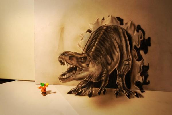 Những tác phẩm 3D sinh động qua nét vẽ chì sáng tạo-9