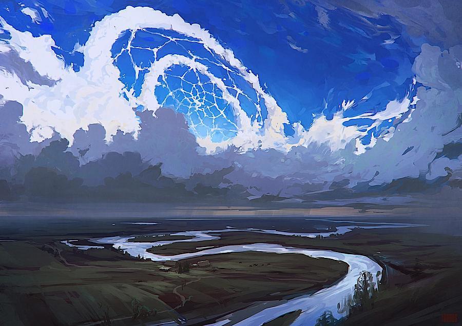 Digital Art và những tác phẩm tuyệt vời của Artyom Chebokha aka Rhads