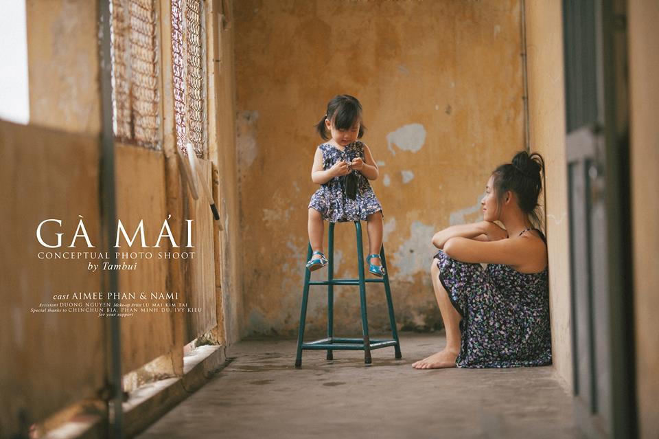 """20/10- Bộ ảnh """"Gà Mái"""" và góc nhìn đầy cảm xúc về những bà mẹ đơn thân-5"""