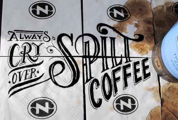 Rob Draper và cảm hứng Typography cực sáng tạo trên Coffee Cup-2