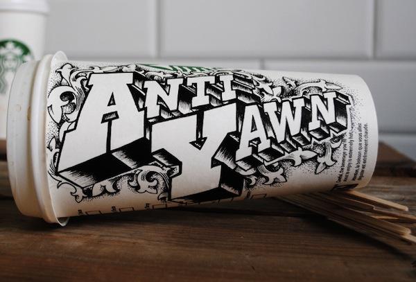 Rob Draper và cảm hứng Typography cực sáng tạo trên Coffee Cup-3