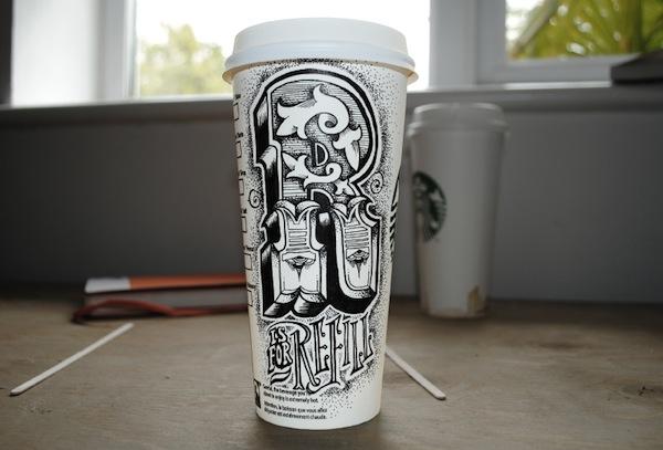 Rob Draper và cảm hứng Typography cực sáng tạo trên Coffee Cup-5