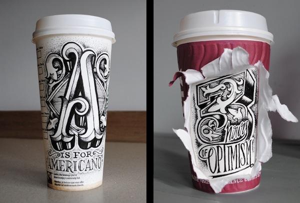 Rob Draper và cảm hứng Typography cực sáng tạo trên Coffee Cup-8