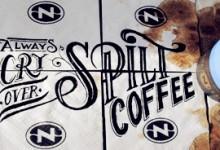 Rob Draper và cảm hứng Typography cực sáng tạo trên Coffee Cup