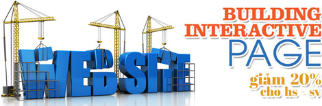 Khóa học Building Interactive Pages – Web tương tác