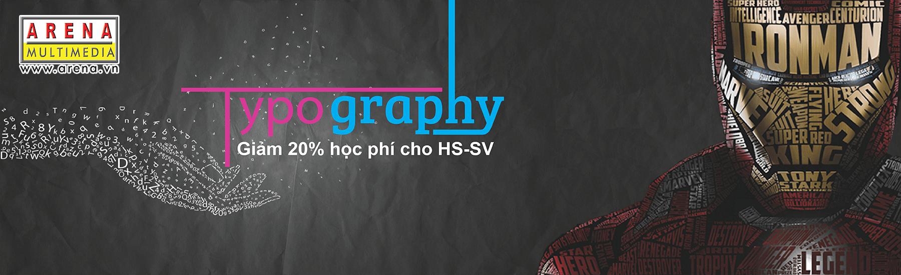 Khóa học: Nghệ thuật thiết kế chữ Typography