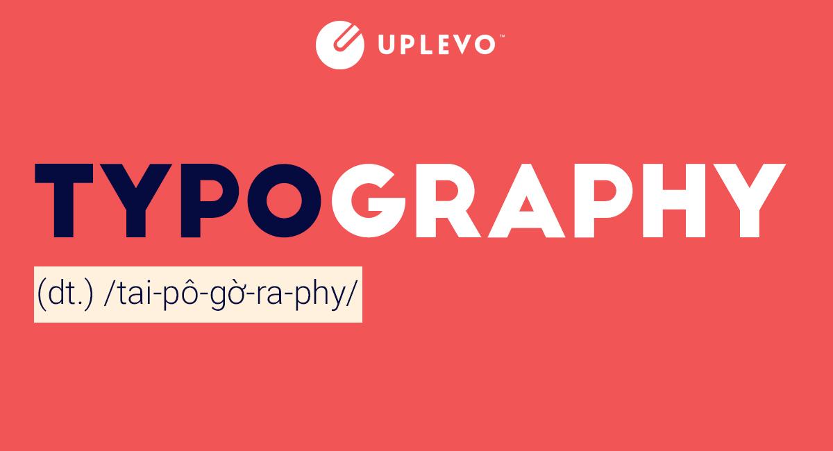 5 Xu hướng Typography hot nhất 2019